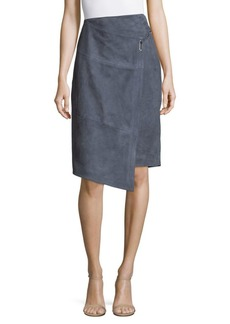 Parker Hurley Leather Skirt