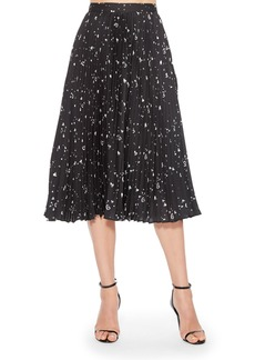 Parker Jacinta Pleated Midi Skirt