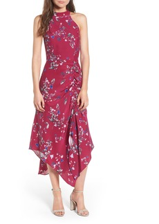 Parker Jagger Silk Midi Dress