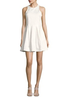 Parker Jewel Neckline Dress
