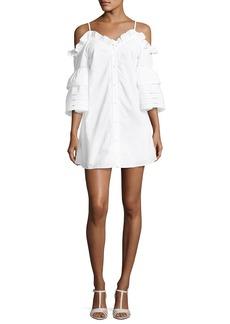 Parker Keegan Cold-Shoulder Mini Dress