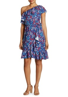 Parker Laela Off-The-Shoulder Stretch-Cotton Dress