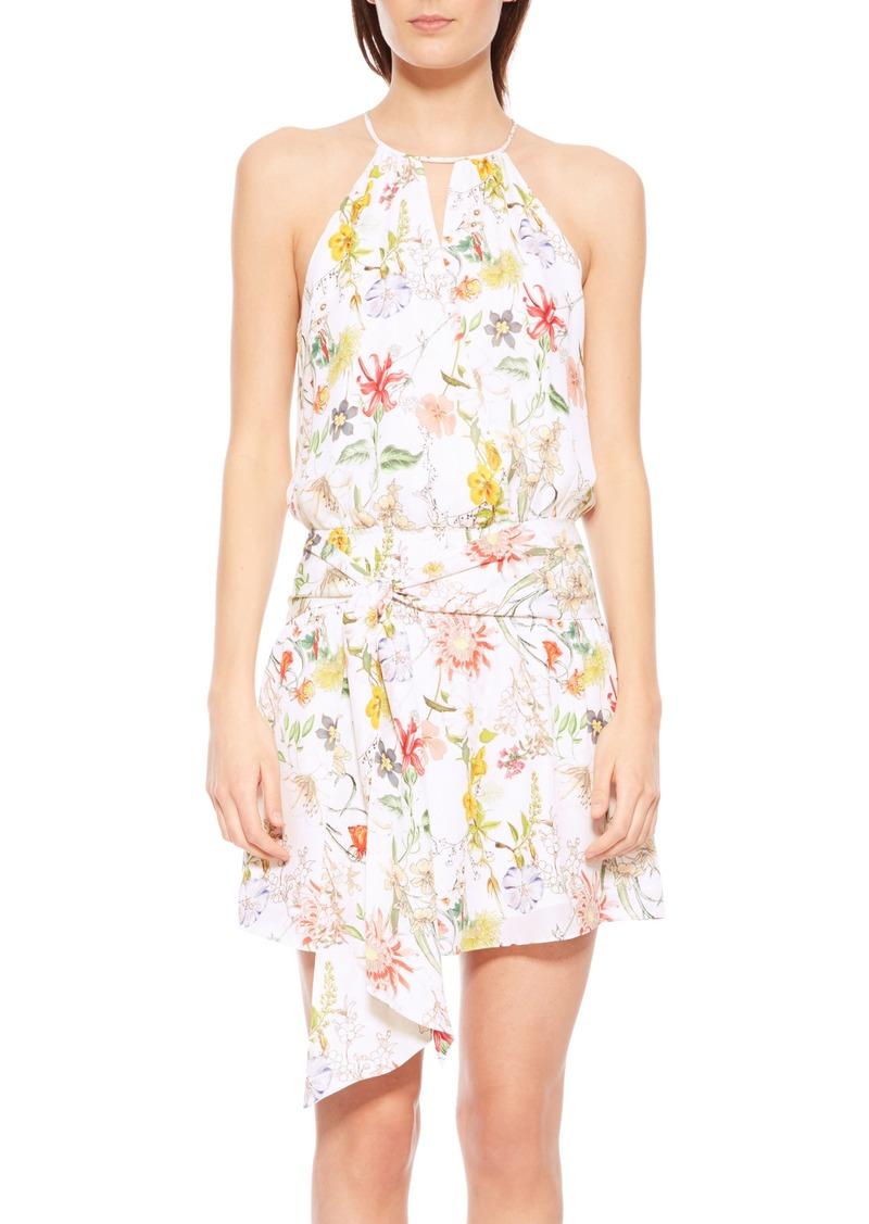 d7ac9d1af0ff Parker Parker Larissa Floral Silk Dress