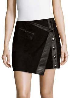 Parker Lauren Leather Skirt