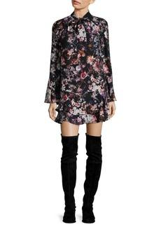 Parker Leopard-Print Dress
