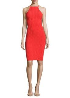 Parker Libra Halterneck Knit Dress
