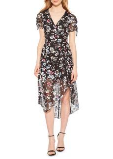 Parker Lizzy Floral High/Low Dress