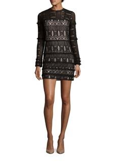 Parker Long Sleeve Lace Dress