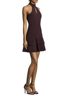 Parker Luana Keyhole Fit-&-Flare Dress