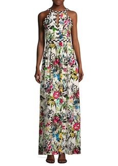 Parker Luella Floral Silk Dress