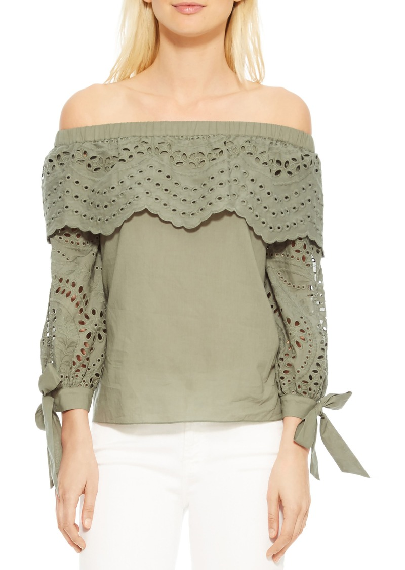 52f852e43d65cd On Sale today! Parker Parker Mandy Off the Shoulder Blouse