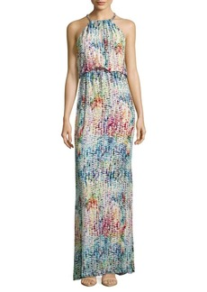 Parker Marcelina Printed Halterneck Gown