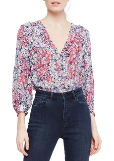 Parker Marie Floral Silk Top
