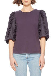 Parker Maurice Elbow Sleeve Top