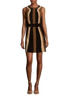 Parker Mellie Leather Mini Dress