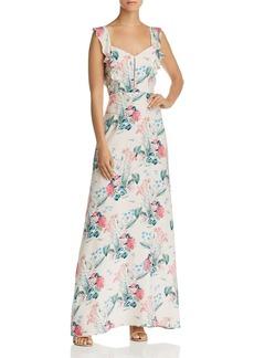 Parker Mimi Floral-Silk Maxi Dress