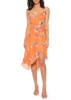 Parker Monroe Floral Print Sleeveless Dress