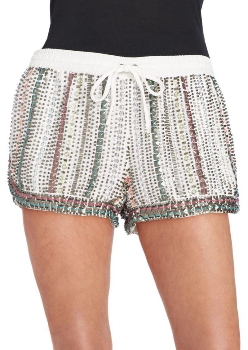Parker Nash Beaded Shorts