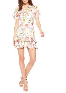 Parker Natalie Floral Silk Dress