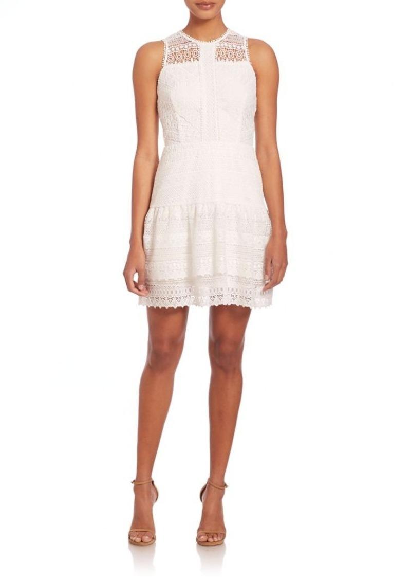 Parker Nerissa Eyelet Lace Combo Dress