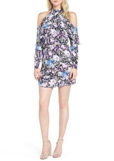 Parker Noemi Cold Shoulder Silk Dress