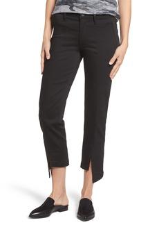 PARKER Novak Slit Hem Trouser Jeans (Eternal Black)
