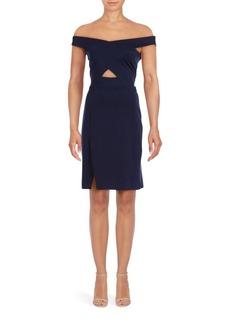 Parker Off-The-Shoulder Aquarius Dress