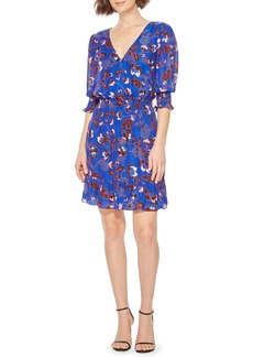 Parker Olympia Elbow Sleeve Minidress