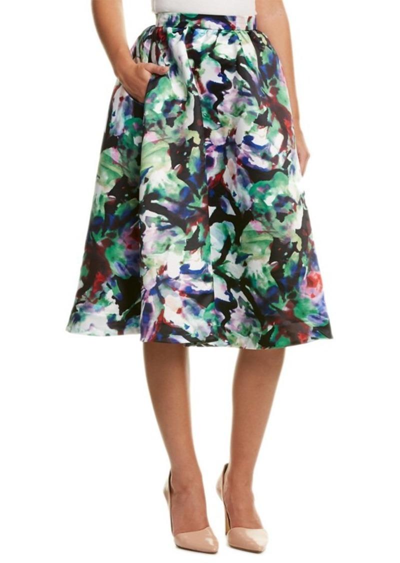 Parker Parker Black Luisa Midi Skirt