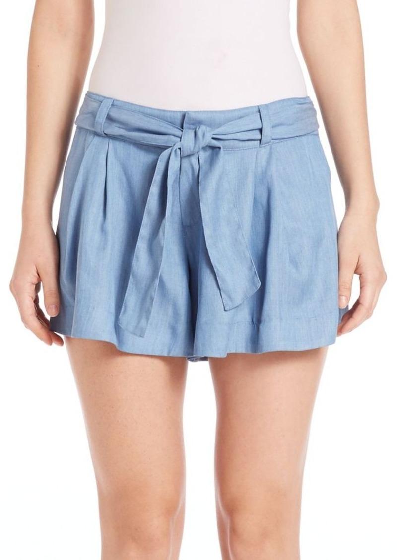 Parker Pleated Tencel Shorts