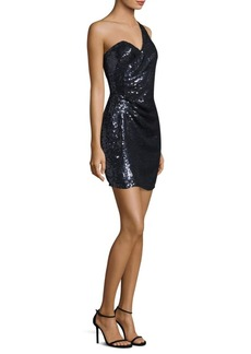 Parker Queenie Sequin Mini Dress