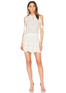 Parker Rayna Dress in White. - size L (also in M,S)