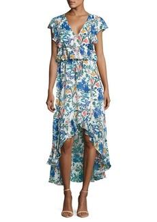 Parker Ruffle Hi-Lo Dress