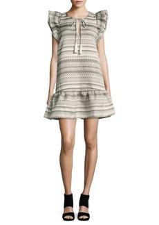 Parker Ruffle Shift Dress