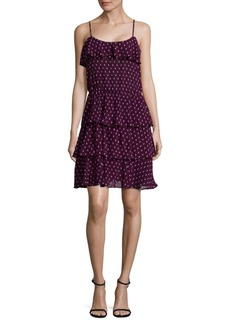 Parker Ruffle Slip-On Dress