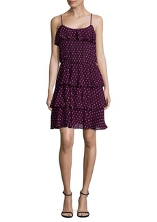 Parker Ruffle Slip-On Dress