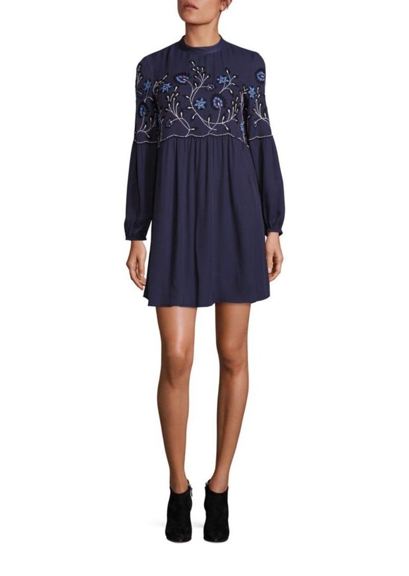 Parker Sadie Embroidered Boho Dress