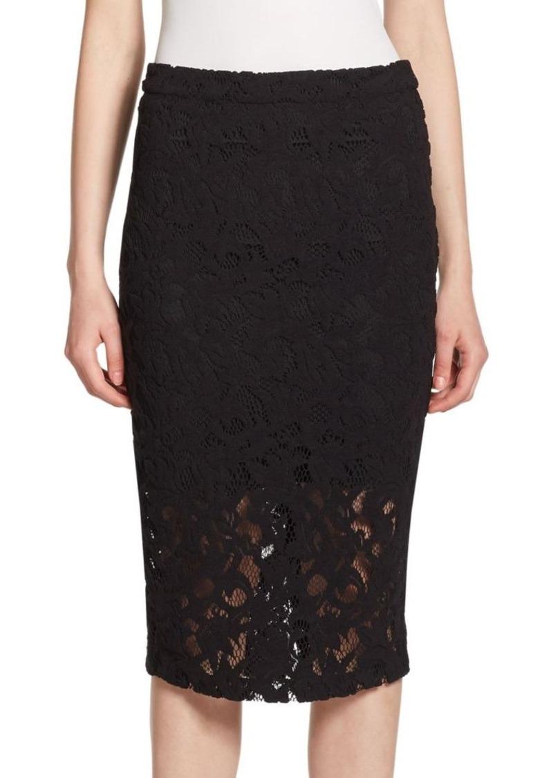 Parker Sandia Floral Lace Skirt