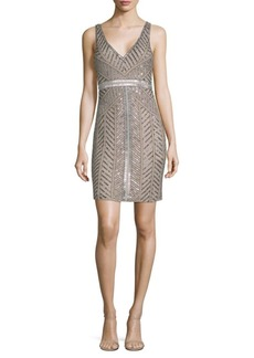 Parker Sequined Sheath Dress
