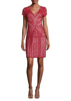 Parker Serena Silk Embellished Dress