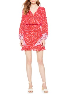 Parker Shona Floral Print Silk Dress
