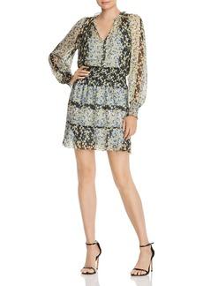 Parker Silk Floral-Print Dress