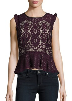 Parker Sleeveless Lace Top