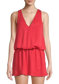 Parker Sleeveless Mini Blouson Dress