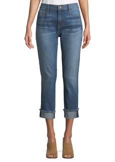 Anti-Fit Rolled-Cuffs Crop Jeans