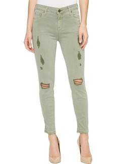 Parker Smith Ava Crop Skinny in Torn Cactus