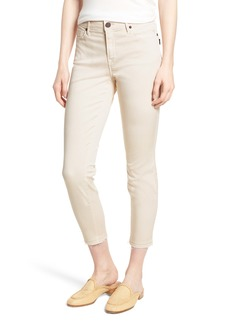 Parker Smith Ava Crop Skinny Jeans (Bone)