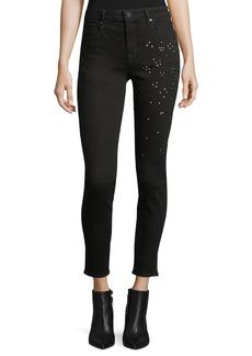 Parker Ava Scattered-Stud Skinny Jeans