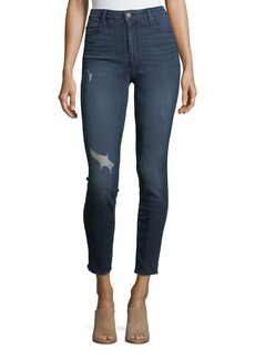 Bombshell Distressed Skinny Jeans