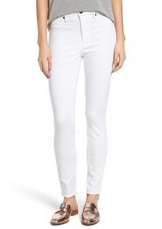 PARKER SMITH Bombshell High Waist Stretch Skinny Jeans (Eternal White)